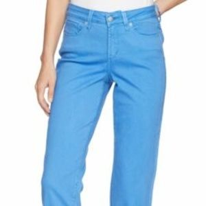 NYDJ Women's Marilyn Crop Cuff in Wave Blue